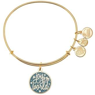 Alex and Ani Joy Words Are Powerful Expandable Wire Charm Bracelet