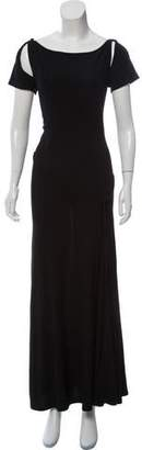 Sonia Rykiel Short Sleeve Cutout Dress