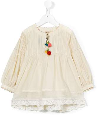 Pero Kids flared blouse