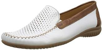 a0f5390d6013 ... Gabor Shoes Women s Comfort Mocassins, White (Weiss Copper 50),3.5 UK