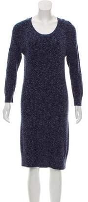 Rag & Bone Long Sleeve Knit Knee-Length dress