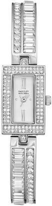 Badgley Mischka Women's Swarovski Crystal Accented Analog Bracelet Watch, 15.5mm