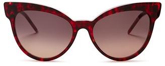 WILDFOX Grand Dame Cat Eye Sunglasses, 58mm $189 thestylecure.com