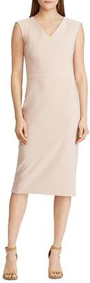 Ralph Lauren V-Neck Sheath Dress