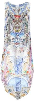 Camilla Printed silk top