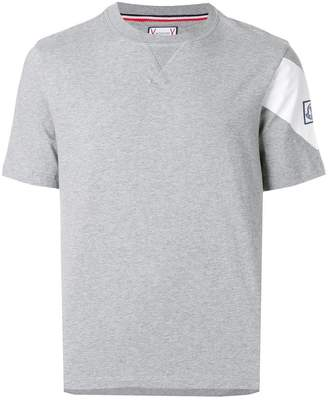 Moncler panelled sleeve T-shirt