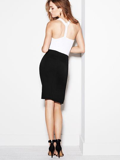 Victoria's Secret Pencil Skirt in Ponte