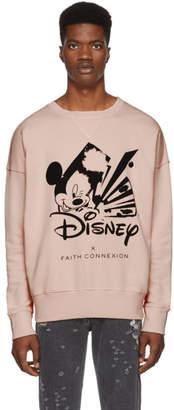 Faith Connexion Pink Disney Edition Sweatshirt