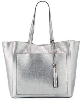 Cole Haan Natalie Unlined Metallic Tote Bag