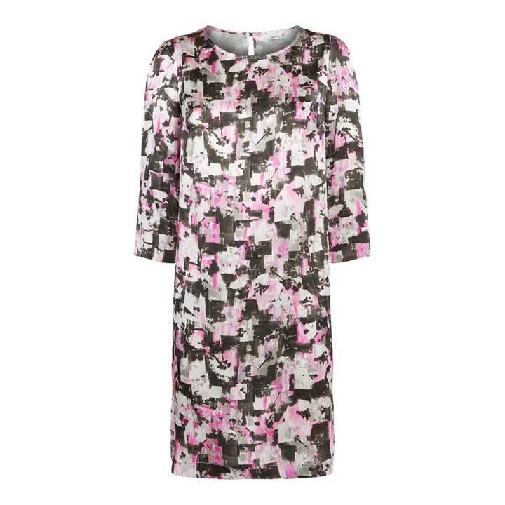 Multi Floral Mirielle Silk Dress