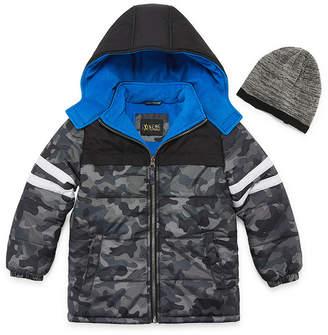 iXtreme Heavyweight Camouflage Puffer Jacket - Boys-Preschool