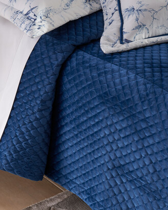 Sherry Kline Home Imperial Quilted Velvet 3-Piece King Coverlet Set