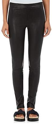 Helmut Lang Women's Stretch Leather Leggings