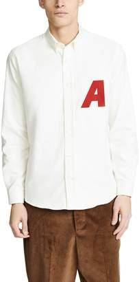 Ami Button Down Long Sleeve Shirt