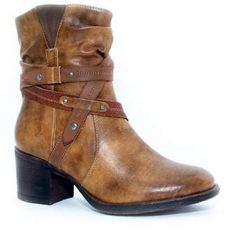 Good Choice New York Troy Heeled Western Ankle Bootie