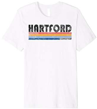 Hartford Vintage 1980s Style CT T Shirt