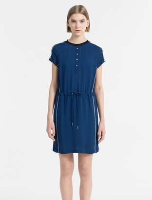 Calvin Klein sporty woven twill dress