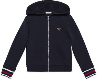 Children's cotton zipper sweatshirt $310 thestylecure.com