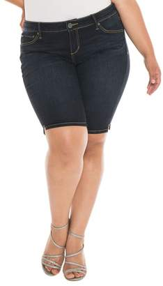 SLINK Jeans Stretch Denim Bermuda Shorts
