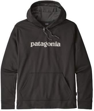 Patagonia Men's Text Logo PolyCycle® Hoody