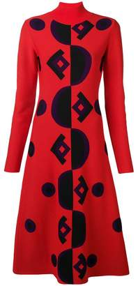 Marni geometric knit dress