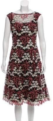 Aidan Mattox Sleeveless Lace Dress w/ Tags