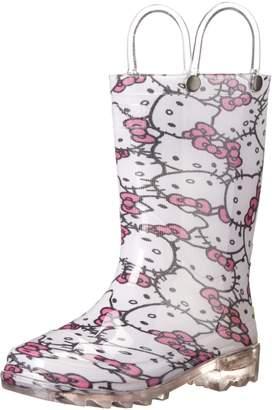 Western Chief Hello Kitty Glitter Lighted Rain Boot (Toddler/Little Kid)