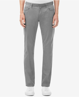 Calvin Klein Men's Slim-Fit Cavalry Stretch Twill Pants