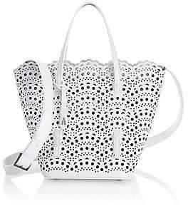 Alaà ̄a Women's Nicole Mini Vivienne Vague Lasercut Leather Tote Bag