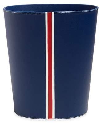 Jonathan Adler Capri Desk Collection Navy Wastebasket