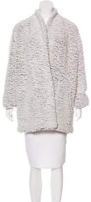 IRO Wool-Blend Textured Coat w/ Tags