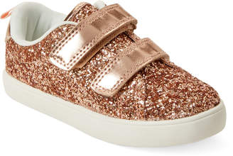 Carter's Toddler Girls) Rose Gold Andee Glitter Low-Top Sneakers