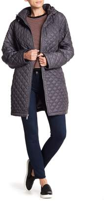 Laundry by Shelli Segal Quilted Hooded Jacket (Plus Size)