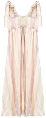 See by Chloe bow striped dress