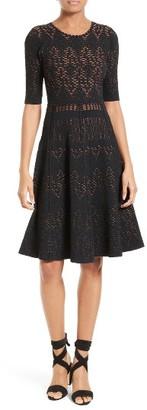 Women's A.l.c. Grayson Knit Fit & Flare Dress $595 thestylecure.com