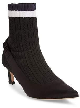 Stuart Weitzman Sockette Faux Fur Boot