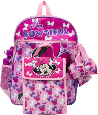 Minnie Mouse 5-Piece Bowtiful Backpack Set