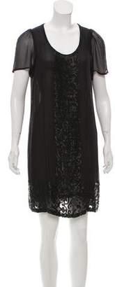 Antik Batik Beaded Mini Dress