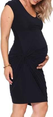 Jules & Jim Maternity Knot Dress