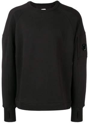 C.P. Company sleeve pocket hooded pullover