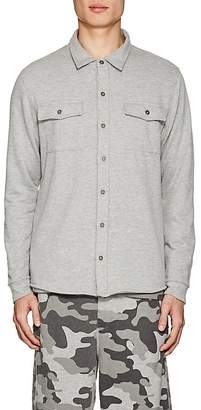 Barneys New York Men's Mélange Terry Shirt Jacket