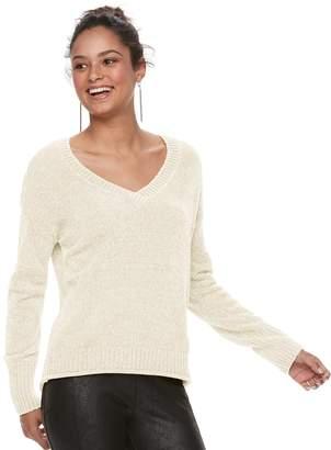 Mudd Juniors' Chenille Sweater
