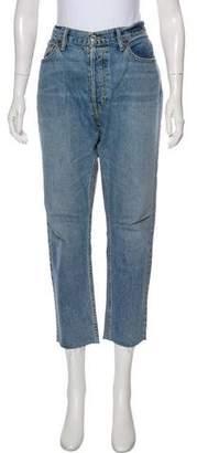 RE/DONE High-Rise Boyfriend Jeans
