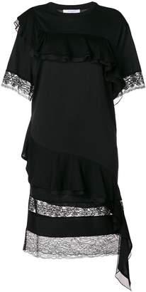 Givenchy asymmetric ruffle dress