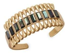 2a35f7a1920 Lucky Brand Dark Magic Black Mother-Of-Pearl Cuff Bracelet