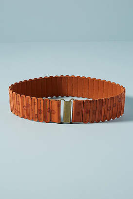 Anthropologie Stamped Tabbi Belt