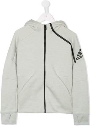 adidas Kids logo sleeve hoodie