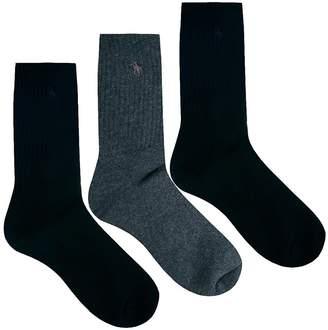 Polo Ralph Lauren 3 Pack Socks Multi