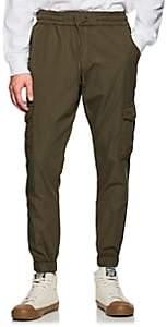 NSF Men's Cotton Canvas Cargo Jogger Pants - Dk. Green
