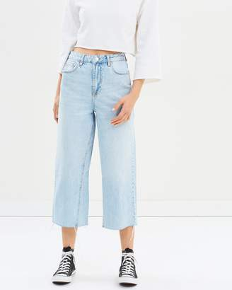 Topshop Awkward Crop Jeans